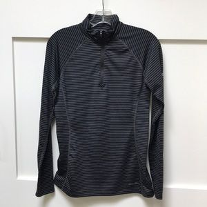 Long sleeve 1/4 zip athletic top
